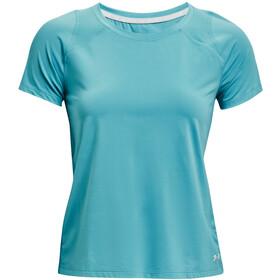 Under Armour Isochill Run 200 Short Sleeve Shirt Women, petrol